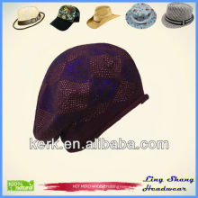 LSC37, Winter 100% Cotton beautiful design sport hat