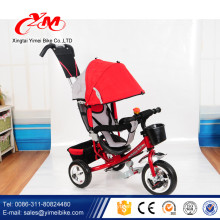 folding EVA wheel baby tricycle stroller 3 in 1/factory wholesale 1 year old trike for babies with roof/tricycle for baby online