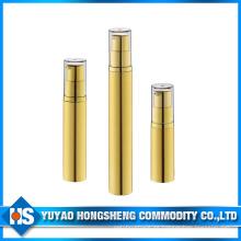 Hs-003A Superficie UV 5 ml 10 ml 15 ml Botella vacía de la pequeña muestra para el embalaje del cuidado de la piel