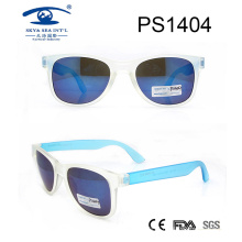 2017 Wholesale Beautiful Transparent Frame Sunglasses (PS1404)