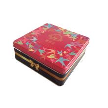Rectangular Tin Can for Packing Mooncake Tin Box Can