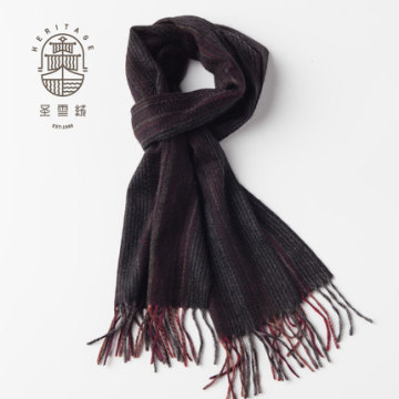 Stripes Pure Cashmere Scarf