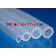 Tubo de goma de silicona transparente personalizado