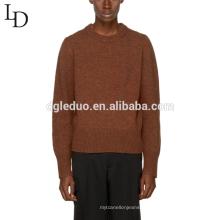 Dernière conception adultes ordinateur tricoté hommes 100% coton pull