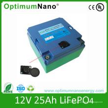 Novos produtos 2015 12V 25ah bateria de lítio para Cavanran