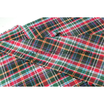 Bunte T / C Garn gefärbt Check Design Shirt Stoff