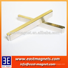 N35 Strip permanent Magnet with special sides/ndfeb strip magnet factory/long neodymium magnet for sale