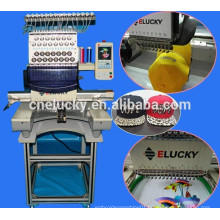 Computer Flat/ Hat /T-shirt Single Head Embroidery Machine For Sale(EG1501CS)