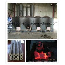 Four de carbonisation de briquettes de sciure de haute qualité