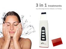 Gezicht schoon oplaadbare EMS huid reinigen apparaat