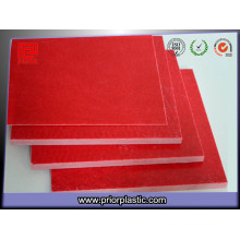 Folha Laminada Vermelha Gpo-3 para Interruptores