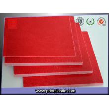 ГПО-3 Красный лист ламината для распределительных устройств