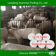 Best Efficient Disinfectant Chlorine Dioxide Tablet for Poultry&Livestock