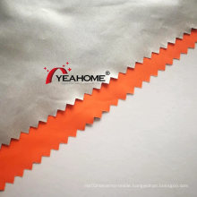 Silver Coating Polyester Pongee Fabric for Car Covers