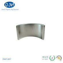 Imán permanente del arco de NdFeB de la alta calidad para el motor