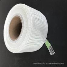 Bande de fibre de verre de joint de panneau fixe de construction