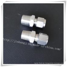Edelstahl-Doppel-Ferrules-Stecker