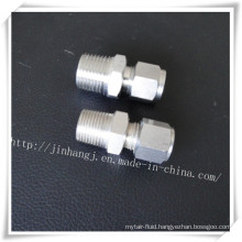 Stainless Steel Double Ferrules Male Connector