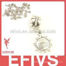 2013 New Fashion sun charms 925 silver pendant charms