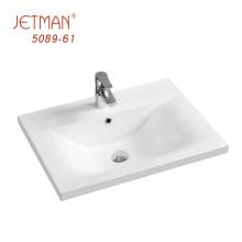 Lavabos pour cheveux / Lavabo de salle de bain sous plan double rectangulaire