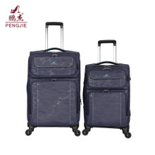 Camouflage pattern trendy travel fabric trolley luggage bag