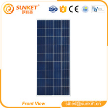 good quality solar pv panel poly 145watt solar panel with tuv ce