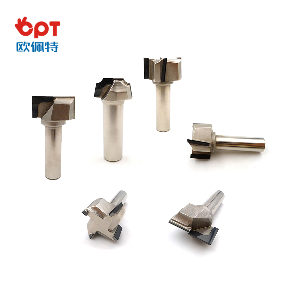 Diamond router bit for MDF special design