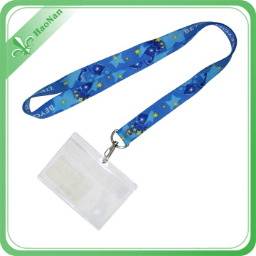 Company Various Styles Factory Directly Custom ID Card Holder Lanyards with Polyester Material