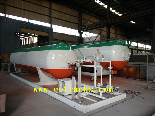 20 CBM LPG Cylinder Filling Stations