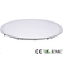 Super slim residencial built-in redonda smd levou painel luz 40W dia 600mm CE RoHS