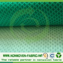 Tissu non tissé de Spunbond de pp avec le modèle croisé de POINT