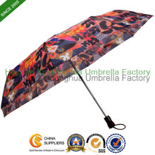 Hitze Transfer Druck Automatic Folding Umbrella (FU-3821ZFA)