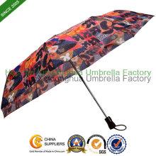 Transfert de chaleur impression automatique pliant parapluie (FU-3821ZFA)