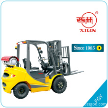 Cheapest Price for Ride-On Pallet Truck Xilin FGY LPG dual fuel forklift truck export to Mauritius Suppliers