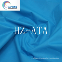 Tissu en polyester pour vêtements, tissu pongee