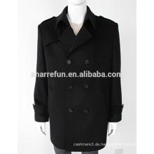 New Fashion Herren Winter 100% reiner Kaschmir-Mantel