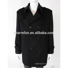 New Fashion Mens Winter 100% Pure Cashmere Overcoat