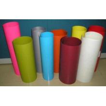 Película rígida de PVC de color vivo para laminación de techo con alta tasa de sombreado