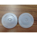 Natural White 80mm and 90mm PLA Plastic Compostable Lid for Hot Coffee Paper Cup