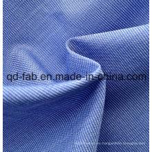 100% Hilado de algodón Tejido Tejido Tejido (QF13-0395)