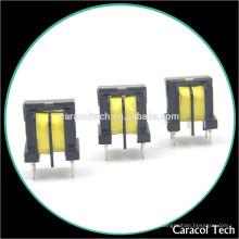 Transformateur de courant à haute fréquence de noyaux de ferrite de série d'Uu avec la canette