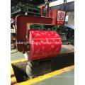 Bobina de aço galvanizada pré-pintada com base vermelha da flor vermelha Exportar para a Coréia