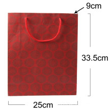 Paper Gift Shopping Bag, Paper Gift Bag with PP Handle