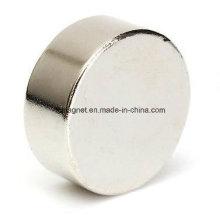 Imán de disco N50 D20X10mm - Imán permanente de tierra rara de neodimio
