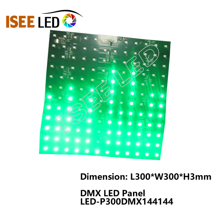 DMX Kontrolü 300mm * 300mm Video Led Panel Işığı