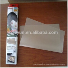 Non-stick ptfe cooking liner, Ideal for baking pan ,oven cooking ,bbq grilling