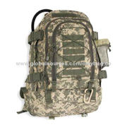 Military Backpack, Digital Camouflage Printing, Customized Logos and Designs are Accepted