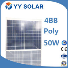 50watt Cheap High Efficiency Solar Panel for Home Solar Power