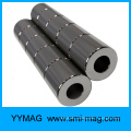 Hollow cylinder neodymium epoxy permanent Magnet