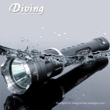 HI-MAX best selling 200m irradiation lotus attack head self waterproof IP68 dive flashlight
